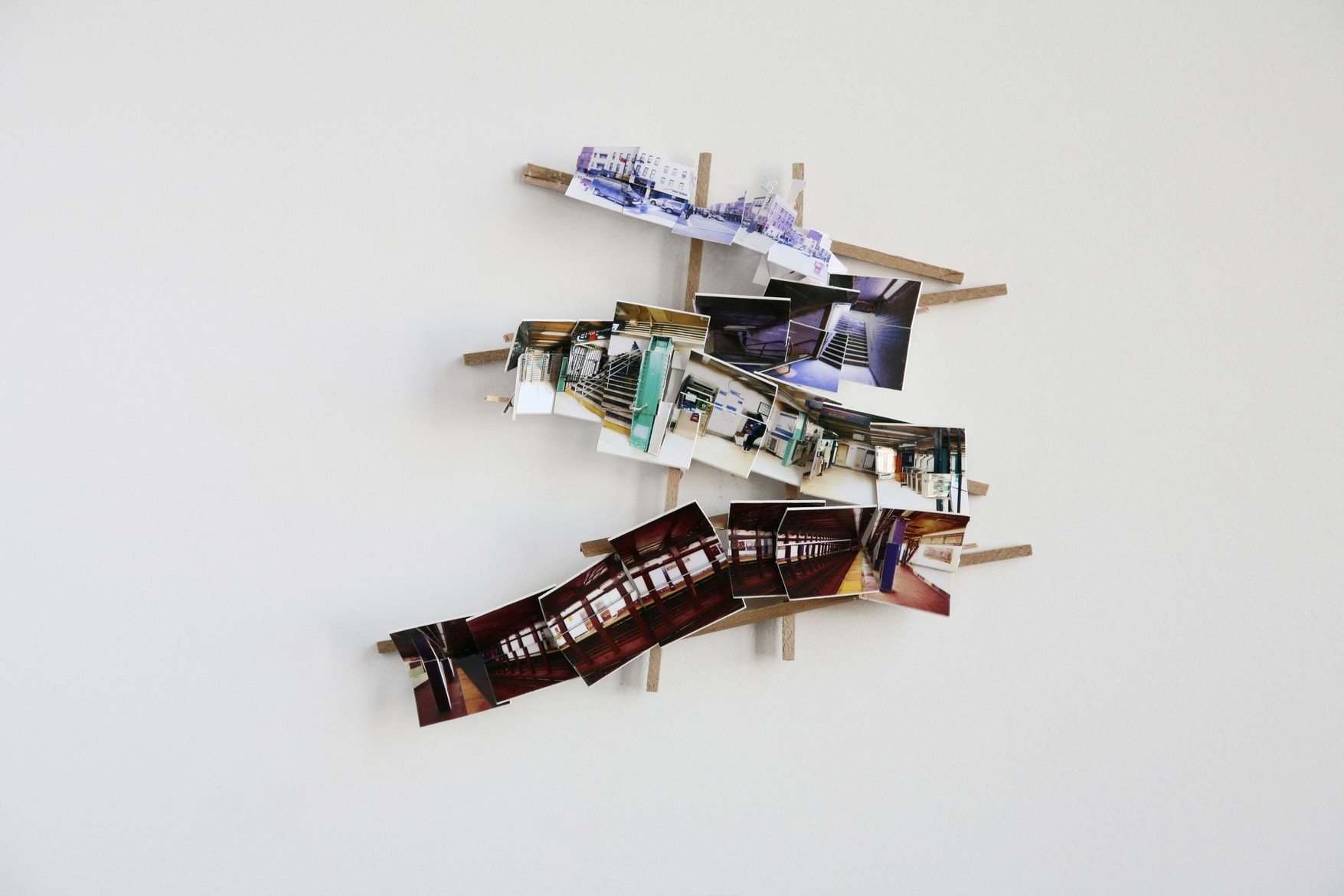 'Model 3', 2016, C-print, wood, museum board, 25 x 25 x 5 cm