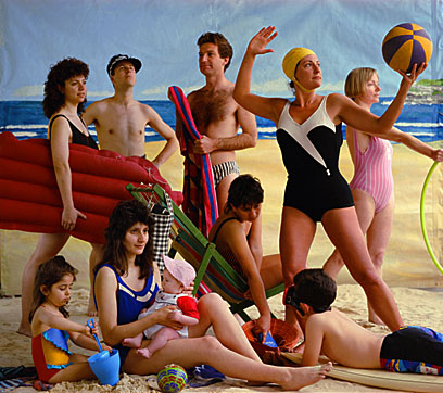 Dominik Mersch Gallery Anne Zahalka The Bathers, 1989, 90cm x 74cm, Type C print,