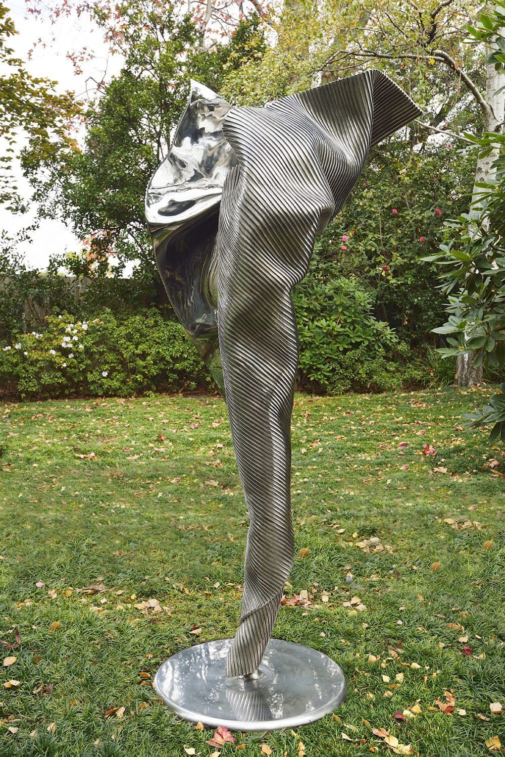 'I Am', 2015, stainless steel, 160 x 70 x 52 cm, artist's proof, edition of 12 + 1AP