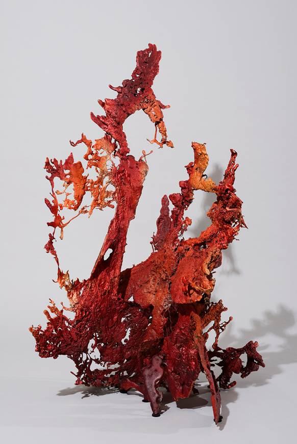 'Cognition 1', 2019, bronze, 128 x 90 x 98 cm, unique