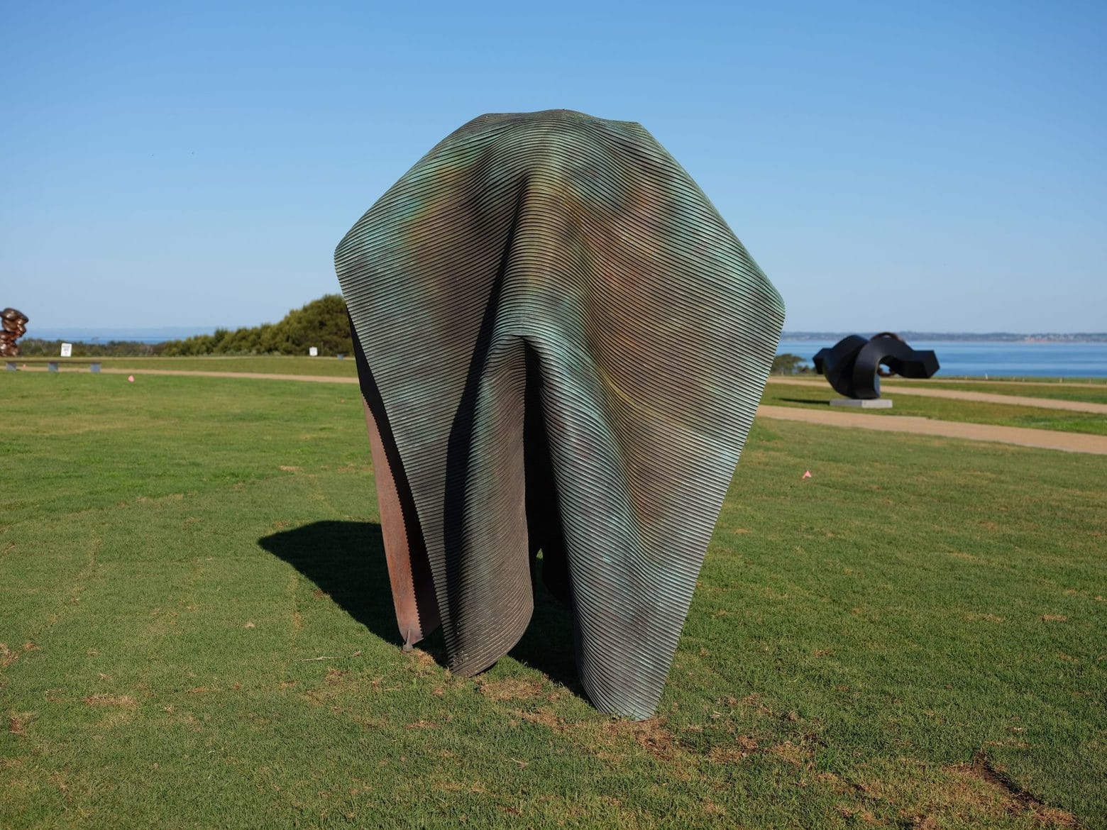 Andrew Rogers, 'Folded', 2003, bronze, 106 x 74 x 50 cm, edition of 12 + 1AP
