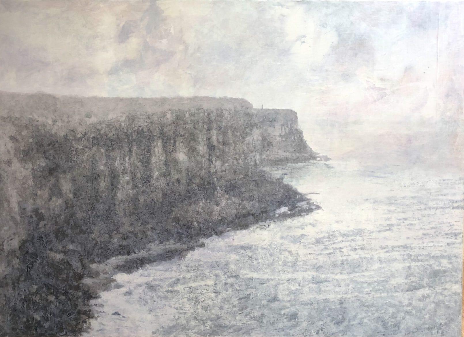 Headland 1, 2004, oil and wax on linen