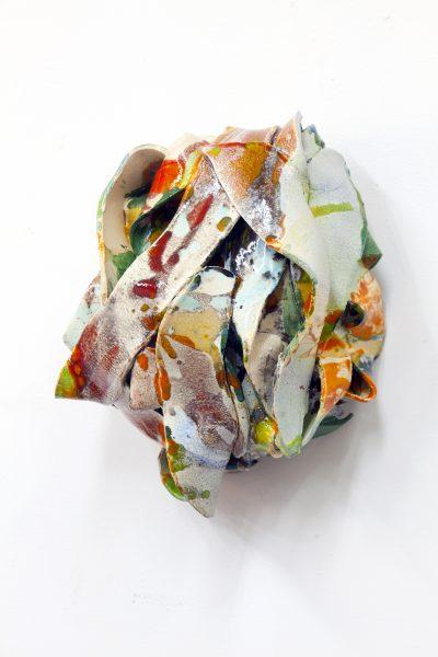 Claudia Terstappen, 'Swing II', 2019, glazed ceramic, 41 x 38 x 36 cm