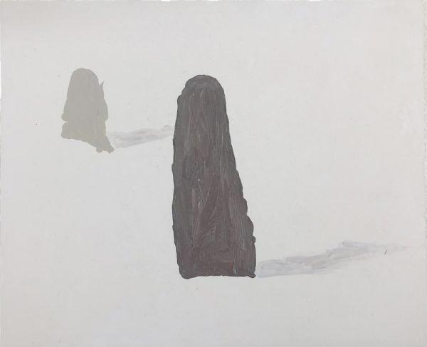 Dominik Mersch Gallery, Clemens Krauss, 'Remaining Silent 1', 2013, acrylic on board, 13 x 18 cm