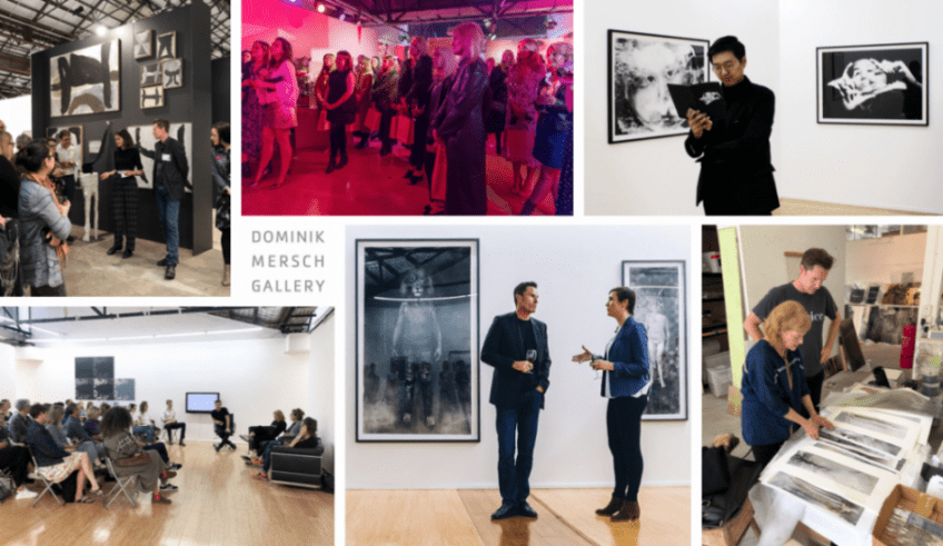 Dominik Mersch Gallery Kunst Society Membership past events tiled images