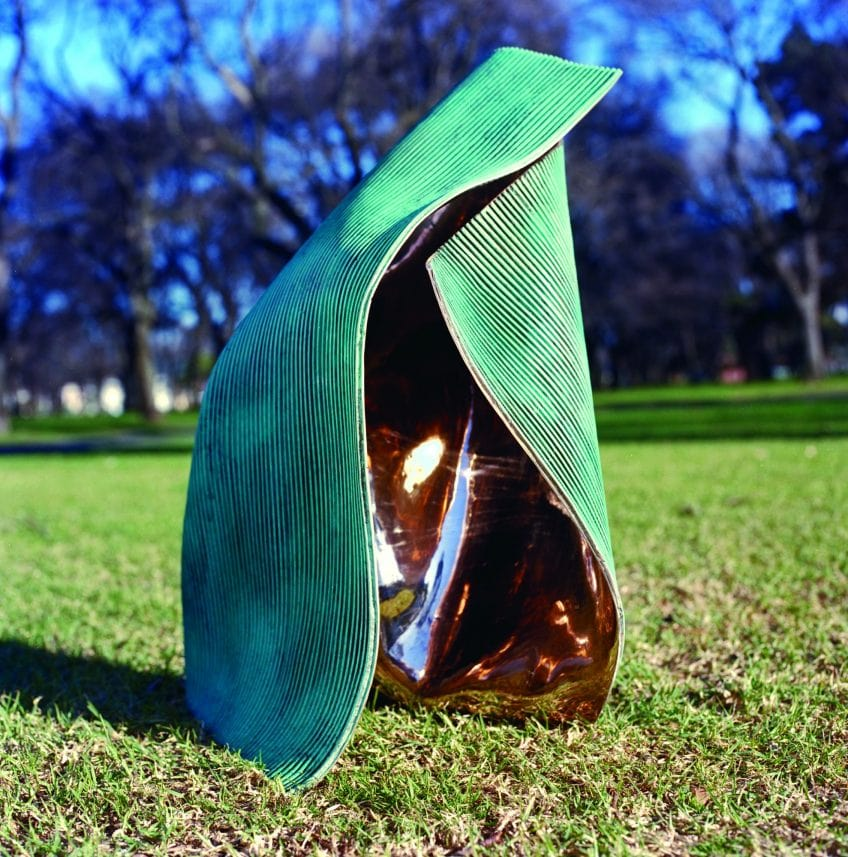 Andrew Rogers, 'Folded 3', 2003, bronze, 77 x 55 x 56 cm, edition of 12 + 1AP