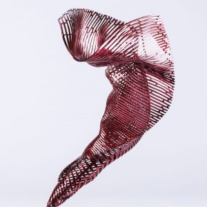 Andrew Rogers, 'I Am - Dancer', 2018, stainless steel, red polychrome, 69 x 38 x 39 cm, edition of 12 + 1AP