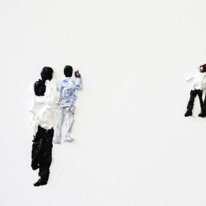 Clemens Krauss, 'Subtitle 11', 2011, oil on canvas, 35 x 115cm