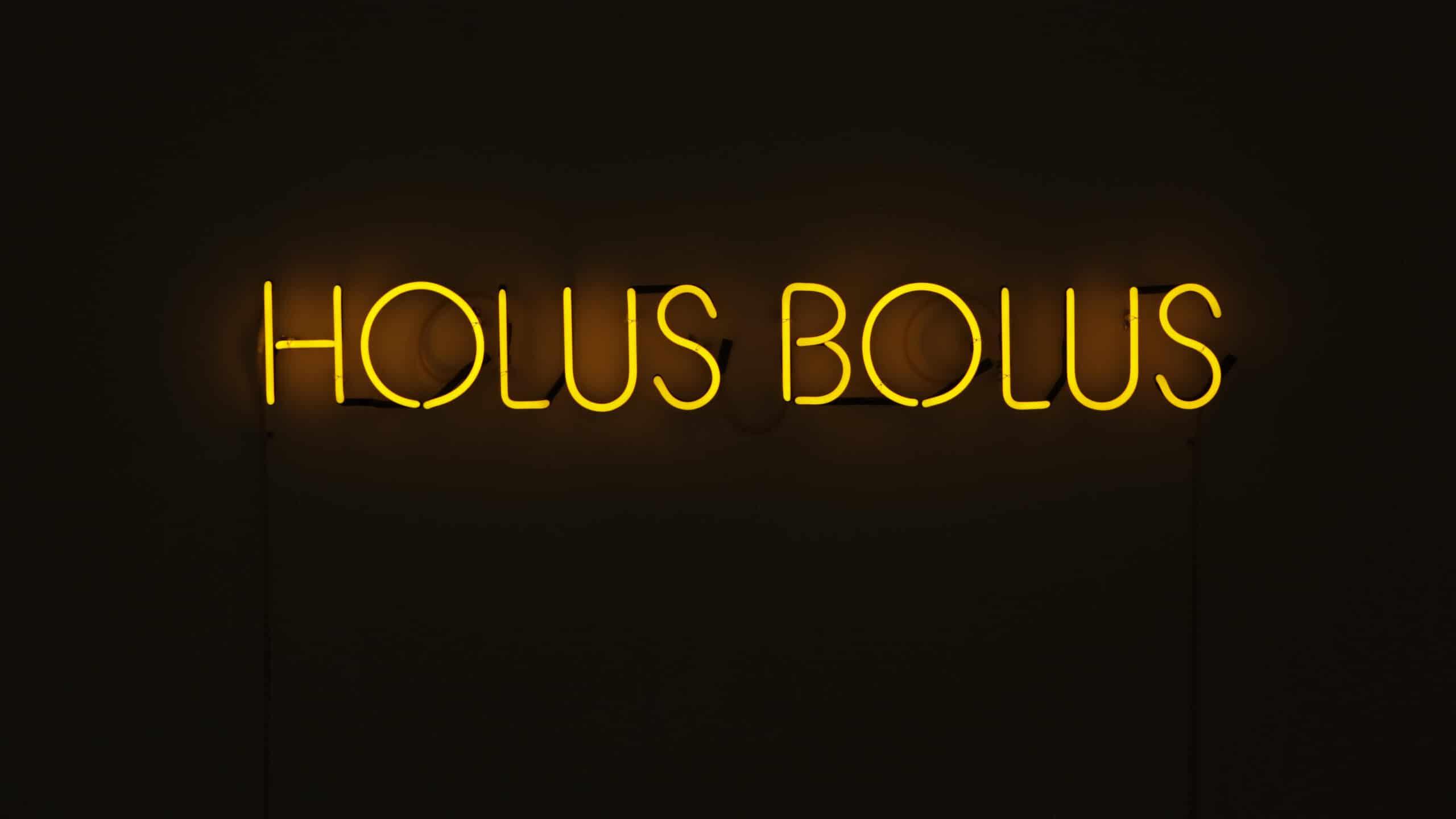 Tina Havelock Stevens, 'Holus Bolus', 2020, Gold Neon, 152cm x 20cm